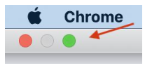 Toggling fullscreen in Chrome on a Mac